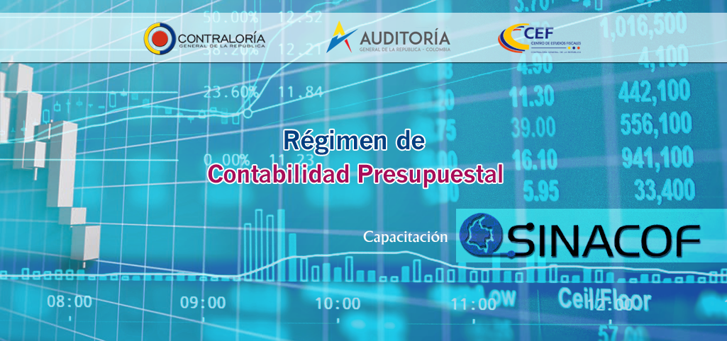 Régimen de Contabilidad Presupuestal  Pública SINACOF